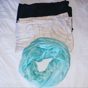 Bundle of express scarves